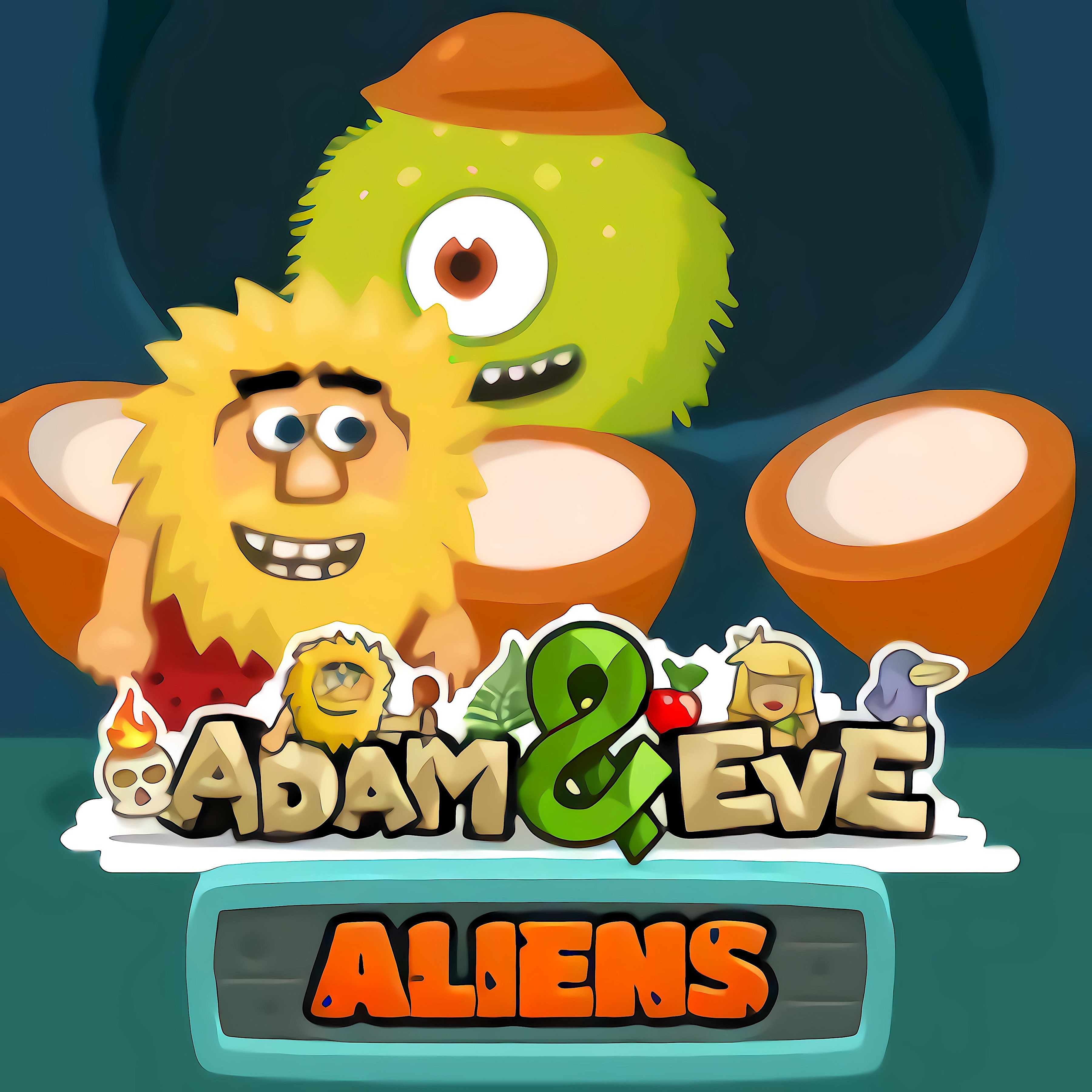 Adam and Eve Aliens