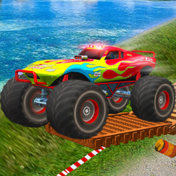 Monster Truck Tricky Stunt Race